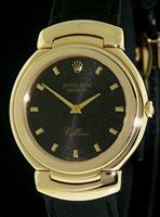 Pre-Owned ROLEX MID-SIZE CELLINI QTZ 18KT GOLD