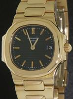 Pre-Owned PATEK PHILIPPE 18KT GOLD QUARTZ NAUTILUS 27MM