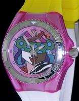 Pre-Owned TECHNOMARINE BRITTO PINK LIMITED EDITION