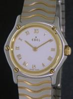Pre-Owned EBEL CLASSIC WAVE STEEL/18KT