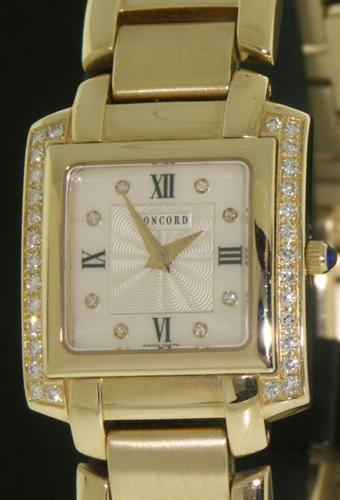Pre-Owned CONCORD 14KT SOLID GOLD W/DIAMONDS