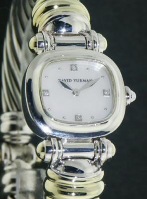 Pre-Owned DAVID YURMAN CABLE WATCH
