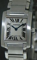 Pre-Owned CARTIER TANK FRANCAISE SMALL