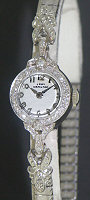 Pre-Owned HAMILTON LADY W/ 24 DIAMONDS