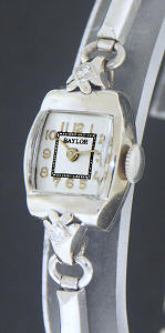 Pre-Owned BAYLOR 14KT SOLID WHITE GOLD