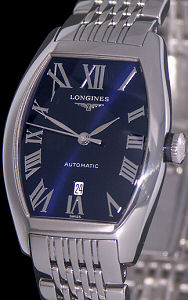 Pre-Owned LONGINES LADIES EVIDENZA ROYAL BLUE