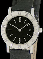 Pre-Owned BVLGARI PRESIGE STEEL QUARTZ