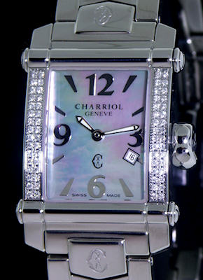 Pre-Owned CHARRIOL COLVMBVS DIAMOND BEZEL