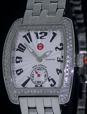 Pre-Owned MICHELE MINI URBAN WITH DIAMONDS