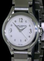 Pre-Owned BAUME & MERCIER ILEA LADIES W/DIAMOND MARKERS