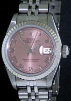 Pre-Owned ROLEX OYSTER  DATEJUST SALMON DIAL