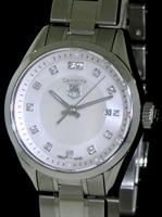 Pre-Owned TAG HEUER AQUARACER MOP DIAMOND DIAL