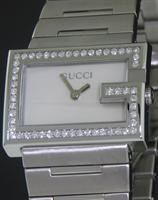 Pre-Owned GUCCI G100L 54 DIAMONDS CASE