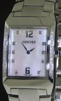 Pre-Owned CONCORD CARLTON STEEL W/DIAMONDS