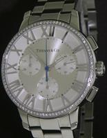 Pre-Owned TIFFANY & CO ATLAS DOME QUARTZ CHRONOGRAPH