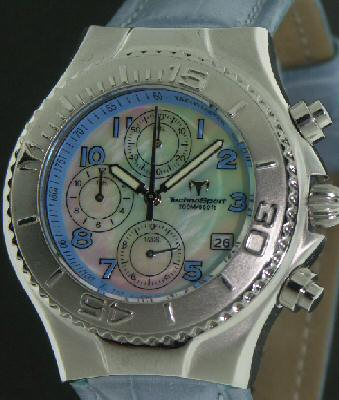 Pre-Owned TECHNOMARINE MOP CHRONOGRAPH