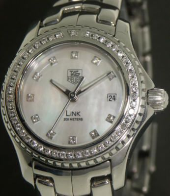 Pre-Owned TAG HEUER LINK W/DIAMONDS