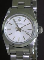 Pre-Owned ROLEX OYSTER PERPETUAL SILVER DIAL