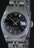 Pre-Owned ROLEX DATEJUST BLACK DIAL