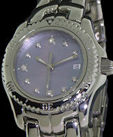 Pre-Owned TAG HEUER LINK MOP DIAMOND DIAL
