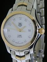 Pre-Owned TAG HEUER 18KT GOLD AND STEEL LINK