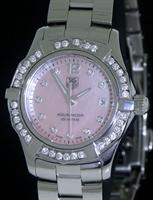 Pre-Owned TAG HEUER AQUARACER WITH DIAMONDS