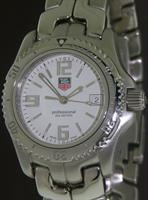 Pre-Owned TAG HEUER QUARTZ LINK WHITE DIAL SPORT