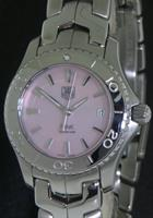 Pre-Owned TAG HEUER LINK PINK MOTHER-OF-PEARL DIAL