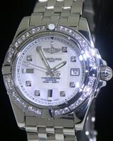 Pre-Owned BREITLING GALACTIC 32 MOP DIAMOND