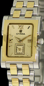 Pre-Owned CYMA TWO TONE CHAMPAGNE DIAL