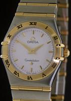Pre-Owned OMEGA CONSTELLATION 18KT GOLD/ STEEL