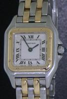 Pre-Owned CARTIER PANTHER 18KT GOLD AND STEEL