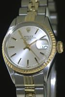 Pre-Owned ROLEX DATE 14KT GOLD & STEEL
