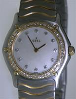 Pre-Owned EBEL CLASSIC WAIVE DIAMOND BEZEL