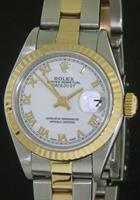 Pre-Owned ROLEX DATEJUST 18KT GOLD AND STEEL
