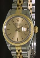 Pre-Owned ROLEX LADIES DATEJUST SS/18KT CHAMP