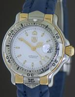Pre-Owned TAG HEUER 6000 18KT GOLD AND STEEL