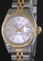 Pre-Owned ROLEX DATEJUST 18KT/STEEL SILVER