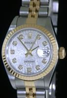 Pre-Owned ROLEX DATEJUST DIAMOND JUBILEE DIAL