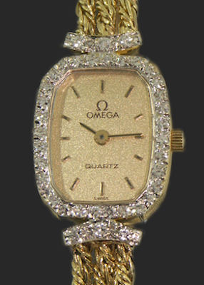 Pre-Owned OMEGA 14KT SOLID GOLD ROPE CHAIN