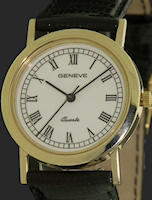 Pre-Owned GENEVE CLASSIC ROMAN STYLE 14KT GOLD