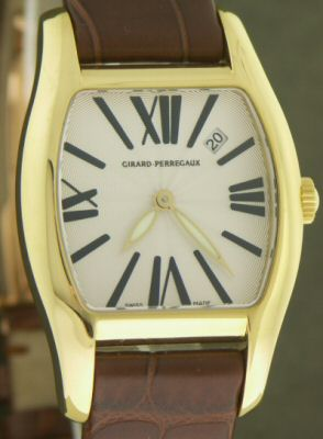 Pre-Owned GIRARD PERREGAUX RICHEVILLE 18KT GOLD