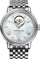 Pre-Owned RAYMOND WEIL MAESTRO OPEN HEART DIAMOND