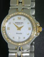 Pre-Owned RAYMOND WEIL PARSIFAL 2-TONE 40 DIAMONDS