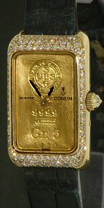 Pre-Owned CORUM 5GR PURE GOLD INGOT