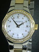 Pre-Owned BAUME & MERCIER RIVERA 18KT GOLD AND STEEL