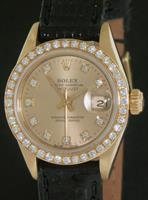 Pre-Owned ROLEX LADY DATEJUST 18KT GOLD