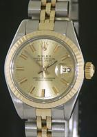 Pre-Owned ROLEX DATE 18KT GOLD & STEEL