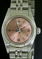 Pre-Owned ROLEX OYSTER PERPETUAL PINK ARABIC