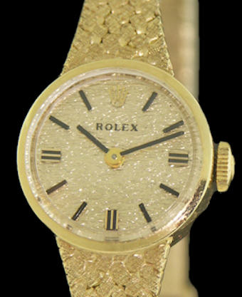 Pre-Owned ROLEX 14KT GOLD CASE MANUAL WIND